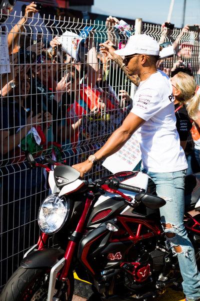 Monte Carlo, Monaco. Wednesday 24 May 2017. Lewis Hamilton, Mercedes AMG.  World Copyright: Sam Bloxham/LAT Images ref: Digital Image _W6I0470