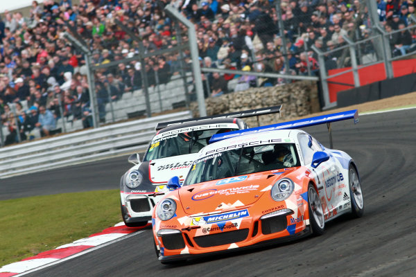 2017 Porsche Carrera Cup GB Brands Hatch, 1st-2nd April 2017 Dan Cammish  World Copyright. JEP/LAT Images