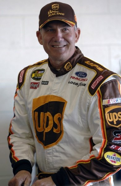 Dale Jarrett (USA), UPS Ford. NASCAR Nextel Cup, Rd3 UAW-Daimler Chrysler 400, Las Vegas Motor Speedway, Las Vegas, Nevada, USA. 11-12 March 2006. DIGITAL IMAGE
