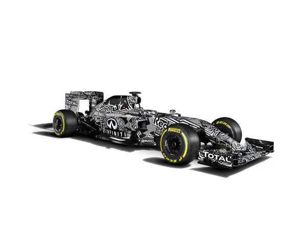 Infiniti Red Bull Racing RB11 Studio Images. Milton Keynes, UK. Friday 30 January 2015. The Red Bull Racing RB11. Photo: Red Bull Racing (Copyright Free FOR EDITORIAL USE ONLY) ref: Digital Image Red_Bull_RB11_Studio_2015_05