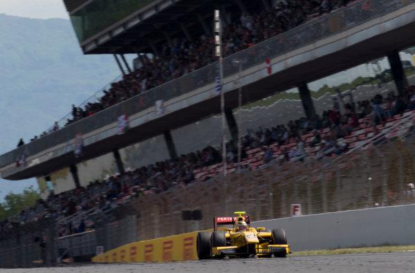 2017 FIA Formula 2 Round 2. Circuit de Catalunya, Barcelona, Spain. Sunday 14 May 2017. Sean Gelael (INA, Pertamina Arden)  Photo: Jed Leicester/FIA Formula 2. ref: Digital Image JL2_1600