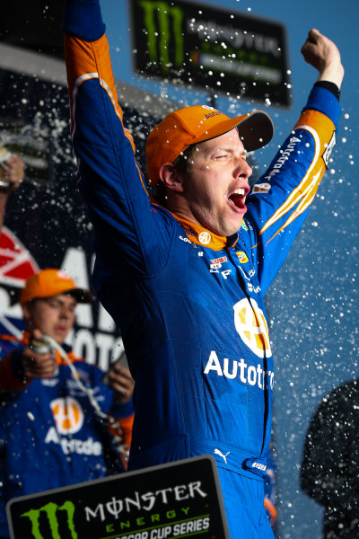 2017 Monster Energy NASCAR Cup Series - Fold of Honor QuikTrip 500 Atlanta Motor Speedway, Hampton, GA USA Sunday 5 March 2017 Brad Keselowski win and celebration World Copyright: Barry Cantrell/LAT Images ref: Digital Image 17ATLbc4953