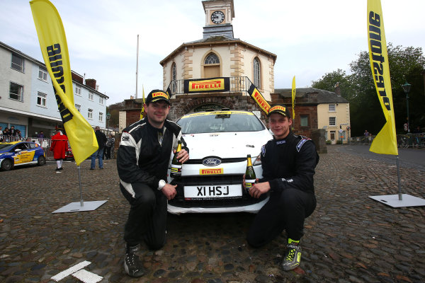 2017 Prestone MSA British Rally Championship,  Pirelli International Rally, Carlisle. 29th - 30th April 2017. Josh Cornwell / Richard Bliss Ford Fiesta R2. World Copyright: JEP / LAT Images.