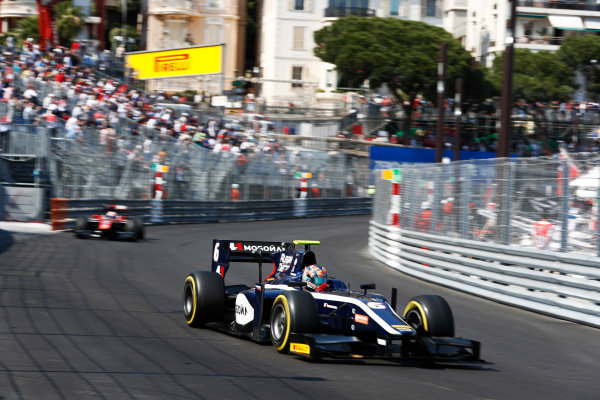 2017 FIA Formula 2 Round 3. Monte Carlo, Monaco. Saturday 27 May 2017. Artem Markelov (RUS, RUSSIAN TIME)  Photo: Zak Mauger/FIA Formula 2. ref: Digital Image _X4I9535