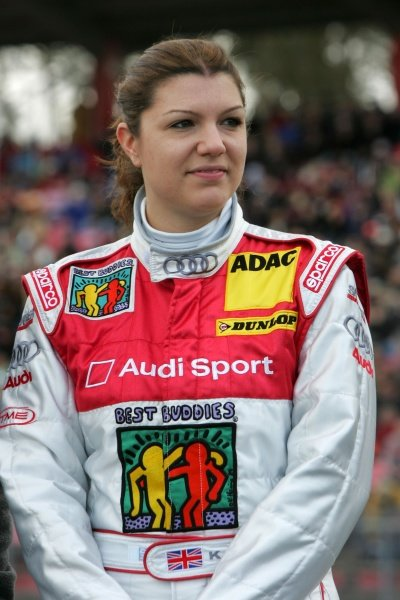 Kathrine Legge (GBR) Futurecom TME Audi  DTM, Rd 1, Hockenheim, Germany, 12-13 April 2008.