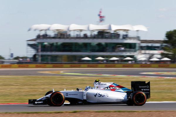 Silverstone Circuit, Northamptonshire, England. Friday 3 July 2015. Susie Wolff, Williams FW37 Mercedes. World Copyright: Andrew Ferraro/LAT Photographic ref: Digital Image _FER0128