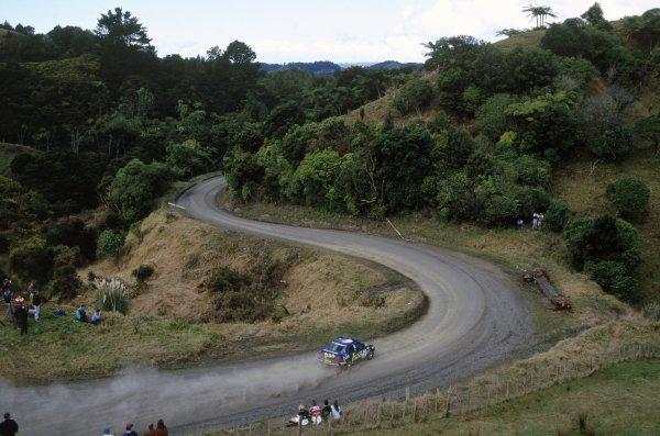 1994 World Rally Championship.New Zealand Rally, New Zealand. 29-31 July 1994.Colin McRae/Derek Ringer (Subaru Impreza 555), 1st position.World Copyright: LAT PhotographicRef: 35mm transparency 94RALLY14