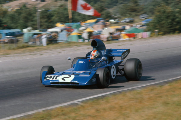 1972 Canadian Grand Prix.  Mosport, Canada. 22-24th September 1972.  François Cevert, Tyrrell 006 Ford.  Ref: 72CAN05. World Copyright: LAT Photographic