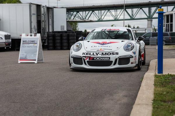10-12 June 2016, Montreal, Quebec Canada 21, Jesse Lazare, Platinum, 2015 Porsche ?2016, Jordan Lenssen for Jake Galstad LAT Photo USA