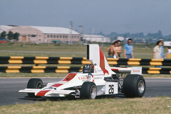 Buenos Aires, Argentina. 13th January 1974. Graham Hill (Lola T370-Ford), retired. Action. World Copyright: LAT Photographic.Ref: 74ARG14
