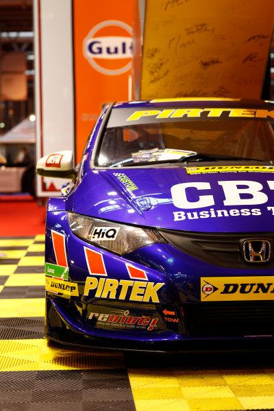 Autosport International Show NEC, Birmingham.  Sunday 12 January 2014. Honda at the Dunlop BTCC stand. World Copyright:Adam Warner/LAT Photographic ref: Digital Image _MG_8217