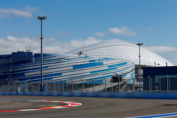 Sochi Autodrom, Sochi, Russia. Thursday 8 October 2015. A view of the circuit. World Copyright: Alastair Staley/LAT Photographic ref: Digital Image _79P8708
