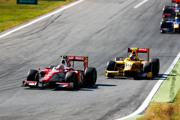 Autodromo Nazionale di Monza, Italy. Sunday 3 September 2017 Antonio Fuoco (ITA, PREMA Racing).  Photo: Bloxham/FIA Formula 2 ref: Digital Image _W6I4716