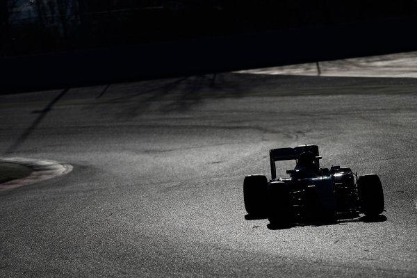 Circuit de Catalunya, Barcelona, Spain Tuesday 01 March 2016.Nico Rosberg, Mercedes F1 W07 Hybrid.  World Copyright: Glenn Dunbar/LAT Photographic ref: Digital Image _89P8734