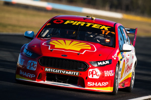 2017 Supercars Championship Round 8.  Ipswich SuperSprint, Queensland Raceway, Queensland, Australia. Friday 28th July to Sunday 30th July 2017. Scott McLaughlin, Team Penske Ford.  World Copyright: Daniel Kalisz/ LAT Images Ref: Digital Image 280717_VASCR8_DKIMG_8198.jpg