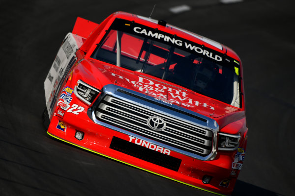 NASCAR Camping World Truck Series winstaronlinegaming.com 400 Texas Motor Speedway, Ft. Worth, TX USA Thursday 8 June 2017 Austin Self, Don't Mess With Texas Toyota Tundra World Copyright: Scott R LePage LAT Images ref: Digital Image lepage-170608-TMS-0380