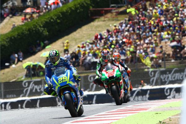 2017 MotoGP Championship - Round 7 Circuit de Catalunya, Barcelona, Spain Sunday 11 June 2017 Andrea Iannone, Team Suzuki MotoGP World Copyright: Gold & Goose Photography/LAT Images ref: Digital Image 677153