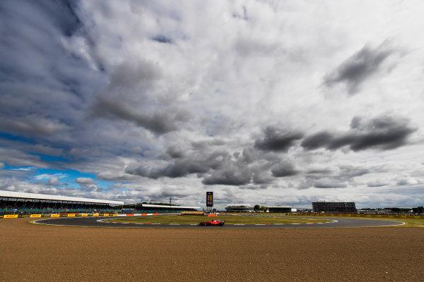 Silverstone, Northamptonshire, UK. Friday 14 July 2017. Kimi Raikkonen, Ferrari SF70H. World Copyright: Zak Mauger/LAT Images ref: Digital Image _56I8747