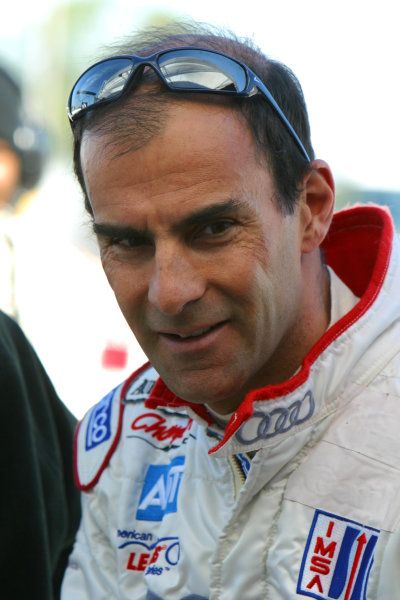January 31-Feb. 3, 2005, SEBRING INTERNATIONAL RACEWAY EMANUELE PIRRO, NO. 2 CHAMPION AUDI R8-2005, GREG ALECK