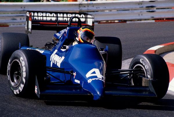 1985 Monaco Grand Prix.Monte Carlo, Monaco.16-19 May 1985.Stefan Bellof (Tyrrell 012 Ford).Ref-85 MON 49.World Copyright - LAT Photographic