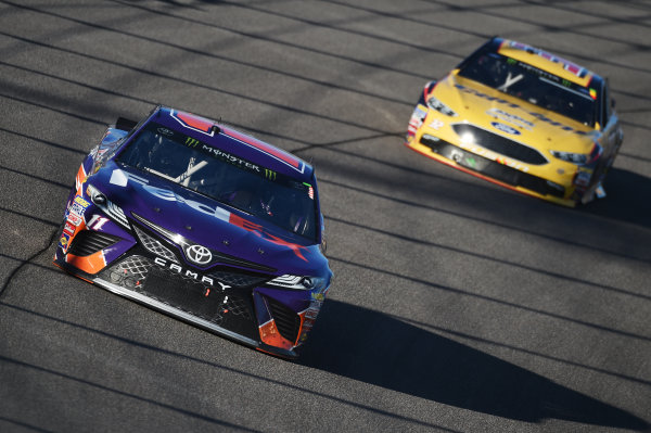 Monster Energy NASCAR Cup Series Homestead-Miami Speedway, Homestead, Florida USA Sunday 19 November 2017 Denny Hamlin, Joe Gibbs Racing, FedEx Express Toyota Camry World Copyright: Rainier Ehrhardt / LAT Images ref: Digital Image DSC_1905