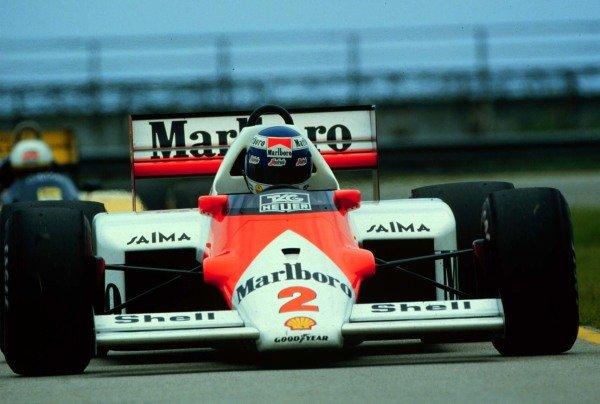 1986 Brazilian Grand Prix.Jacarepagua, Rio de Janeiro, Brazil.21-23 March 1986.Keke Rosberg (McLaren MP4/2C-TAG Porsche).World Copyright - LAT Photographic