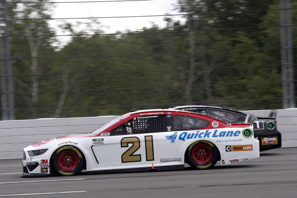 #21: Matt DiBenedetto, Wood Brothers Racing, Ford Mustang Motorcraft/Quick Lane