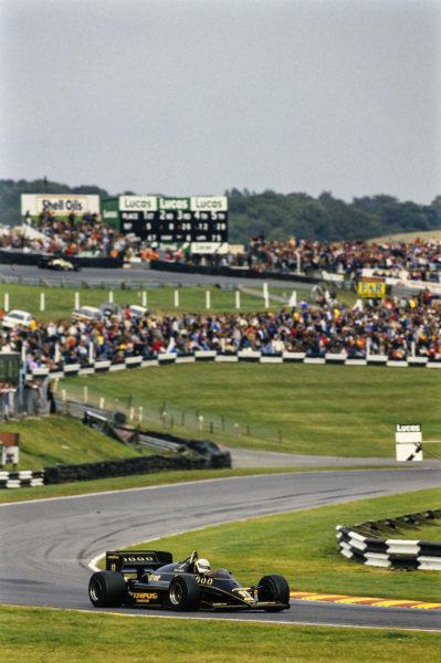Elio de Angelis, Lotus 97T Renault.