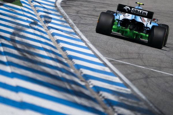 Robert Kubica, Williams FW42 with aero paint