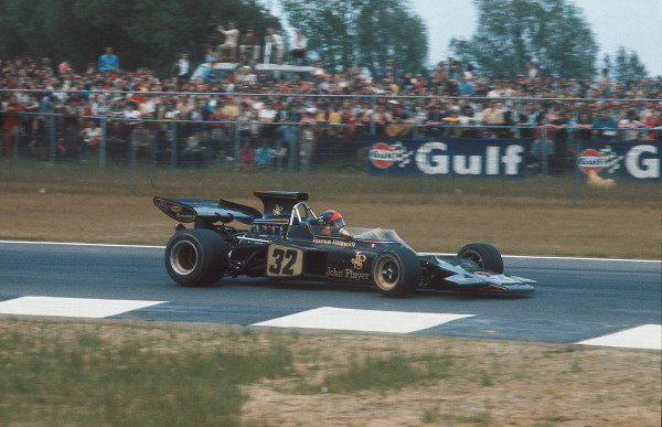 1972 Belgian Grand Prix.Nivelles-Baulers, Belgium.2-4 June 1972.Emerson Fittipaldi (Lotus 72D Ford) 1st position.Ref-72 BEL 12.World Copyright - LAT Photographic