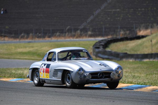 Alex Curtis, Mercedes 300SL Gullwing, 1955