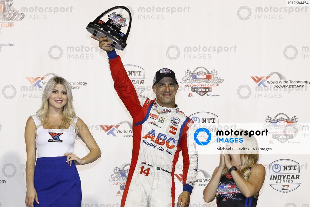 Tony Kanaan, A.J. Foyt Enterprises Chevrolet, podium