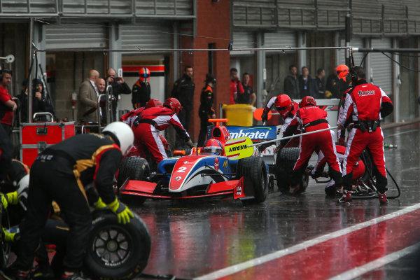 SPA-FRANCORCHAMPS 20-22 May 2016: Formula V8 3.5 at Spa-Francorchamps. Pietro Fittipaldi #2 Fortec Motorsports. Portrait. © 2016 Sebastiaan Rozendaal / Dutch Photo Agency / LAT Photographic