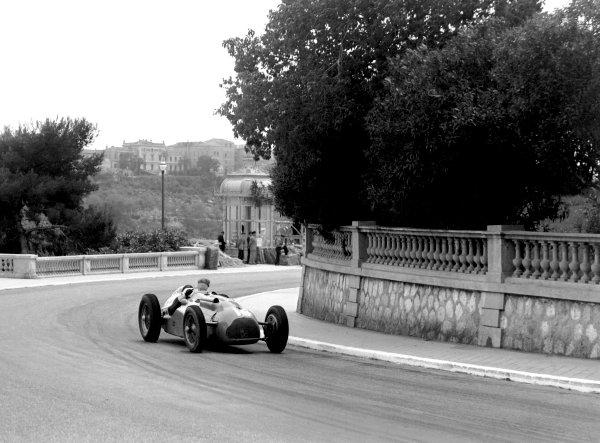 1950 Monaco Grand Prix.Monaco, Monte Carlo. 21st May 1950.Philippe Etancelin (Lago-Talbot T26C). Ref-C26712.World Copyright: LAT Photographic
