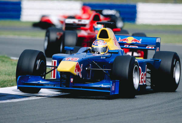 2003 International F3000 - raceSilverstone, England. 20th July 2003Vitantonio Liuzzi - 3rdWorld Copyright - LAT Photographicref: Priority F3K A0