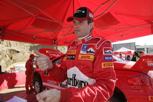 2005 FIA World Rally Championship  Round 5, Rally of Italy, Sardinia. 29th - 1st May April 2005. Marcus Gronholm, portrait. World Copyright: Mcklein/LAT Photographic Ref: Digital Image Only.
