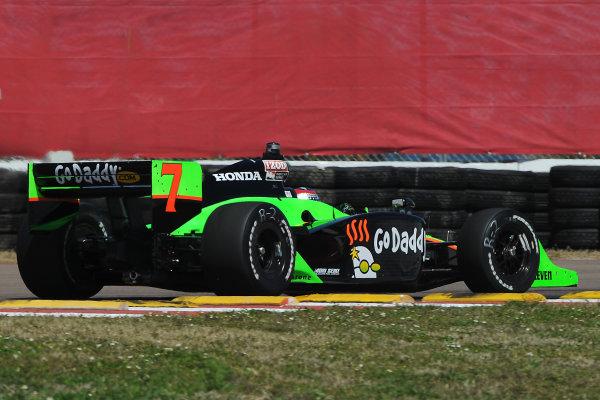 26-28 March 2010, St petersburg, Florida USA#7 Andretti Autosport's Danica Patrick.©Dan R. Boyd LAT Photographic USA