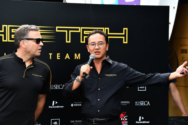 2017/2018 FIA Formula E Championship. Riound 1 - Hong Kong, China. Saturday 1 December 2018. Techeetah presentation. Photo: Mark Sutton/LAT/Formula E ref: Digital Image DSC_7510