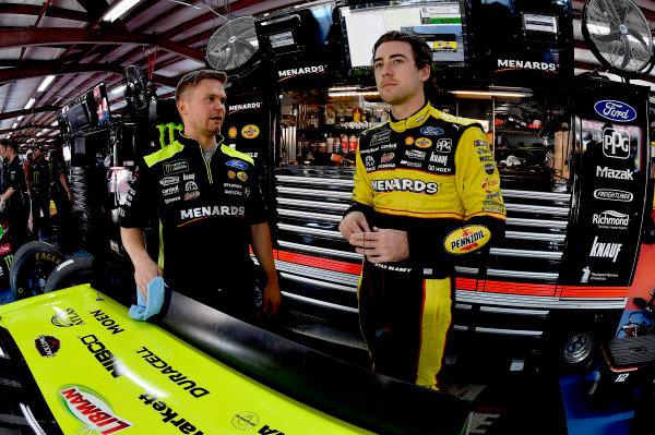 #12: Ryan Blaney, Team Penske, Ford Fusion Menards/Richmond