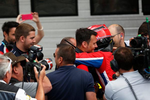 2015 GP3 Series Round 4.  Hungaroring, Budapest, Hungary. Sunday 26 July 2015. Kevin Ceccon (ITA, Arden International)  World Copyright: Sam Bloxham/LAT Photographic. ref: Digital Image _79P8935