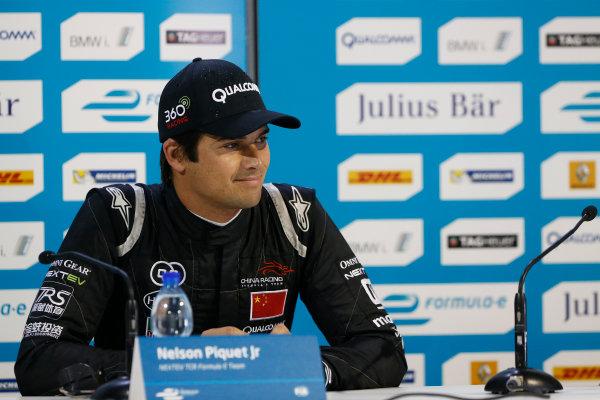 2014/2015 FIA Formula E Championship.  Moscow e-Prix, Moscow, Russia. Saturday 6 June 2015. Nelson Piquet Jr (BRA)/China Racing - Spark-Renault SRT_01E  Photo: Sam Bloxham/LAT/Formula E ref: Digital Image _SBL5977