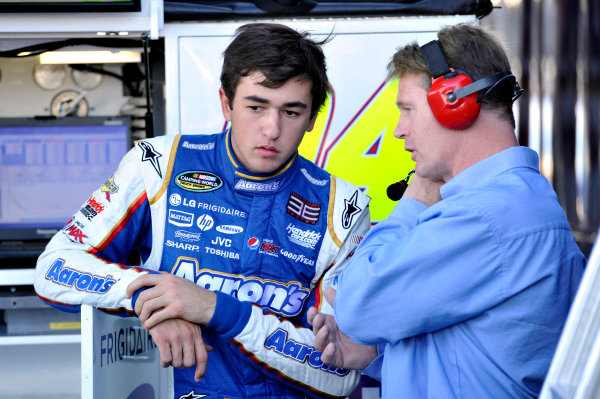 8-9 November, 2013, Avondale, Arizona USA Chase Elliott and Rex Stump © 2013, Nigel Kinrade LAT Photo USA