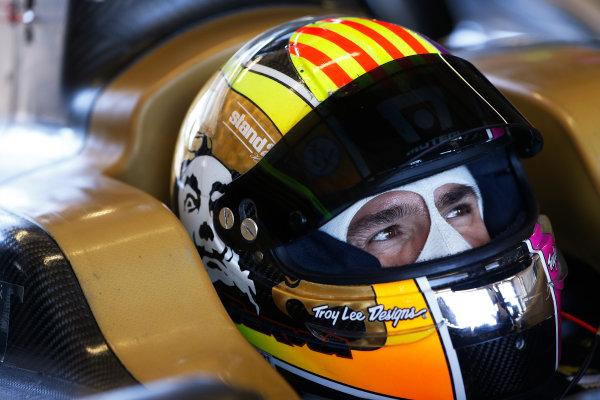 FIA Formula E Test Day, Donington Park, UK.  9th - 10th July 2014.  Oriol Servia, Dragon Racing. Photo: Sam Bloxham/FIA Formula E ref: Digital Image _SBL0728