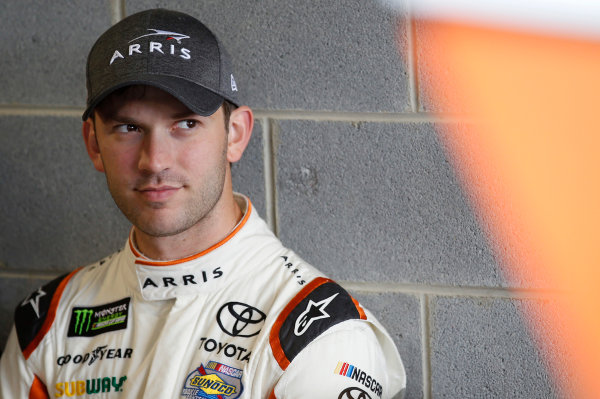 2017 Monster Energy NASCAR Cup Series STP 500 Martinsville Speedway, Martinsville, VA USA Friday 31 March 2017 Daniel Suarez, ARRIS Toyota Camry World Copyright: Matthew T. Thacker/LAT Images ref: Digital Image 17MART11008