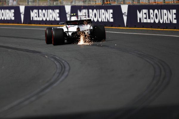 Albert Park, Melbourne, Australia. Friday 24 March 2017. Lance Stroll, Williams FW40 Mercedes.  World Copyright: Sam Bloxham/LAT Images ref: Digital Image _W6I1163
