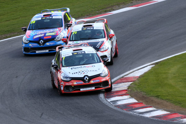 2017 Renault Clio Cup Brands Hatch, 1st-2nd April 2017 James Colburn (GBR)  World Copyright. JEP/LAT Images