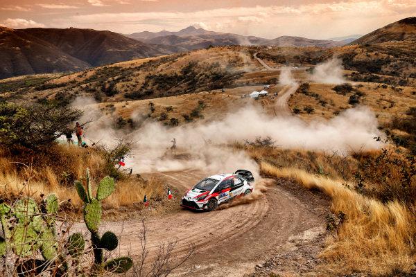 Jari-Matti Latvala (FIN) / Miikka Anttila (FIN), Toyota Gazoo Racing Toyota Yaris WRC at World Rally Championship, Rd3, Rally Mexico, Day One, Leon, Mexico, 10 March 2017.