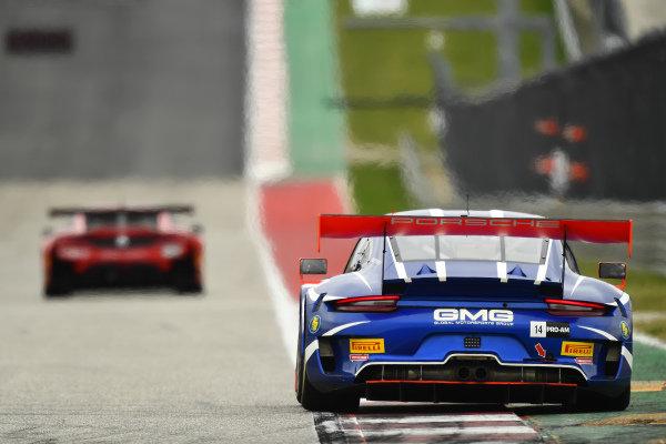 #14 GT3 Pro-Am, GMG Racing, James Sofronas, Jeroen Bleekemolen, Porsche 911 GT3 R (991)