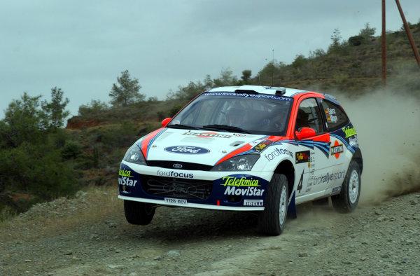 World Rally Championship, Cyprus Rally, April 18-21, 2002.Carlos Sainz during shakedownPhoto: Ralph Hardwick/LAT