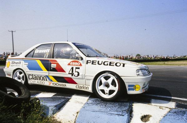 Robb Gravett, Peugeot Talbot Sport, Peugeot 405 Mi16.